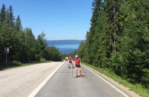 Женская сборная Украины по биатлону начала тренировочный сбор в Вуоккати